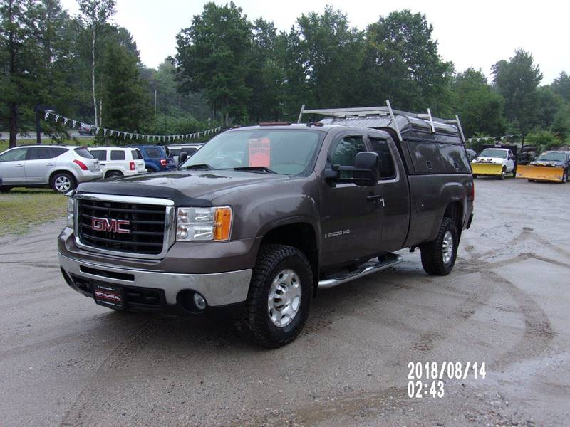 2007 Gmc Sierra 2500hd Slt 4dr Extended Cab 4x4 Lb In Oxford Me