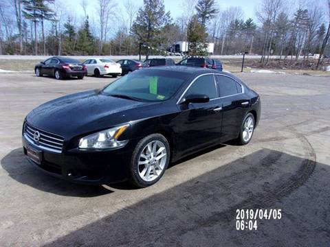 2011 Nissan Maxima for sale in Oxford, ME