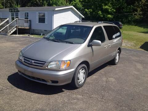 2002 Toyota Sienna for sale at Riley Auto Sales LLC in Nelsonville OH