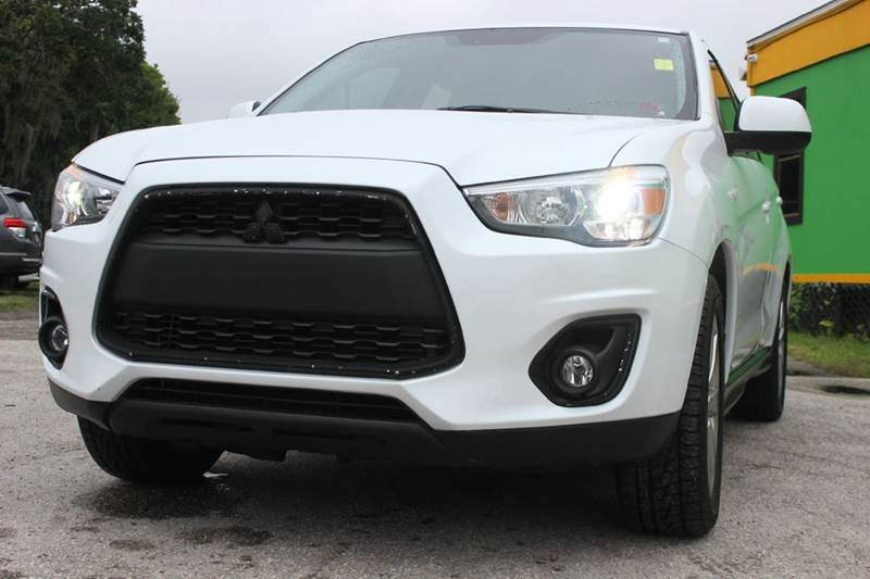 2013 MITSUBISHI OUTLANDER SPORT SE 4DR CROSSOVER white there are no electrical problems with this