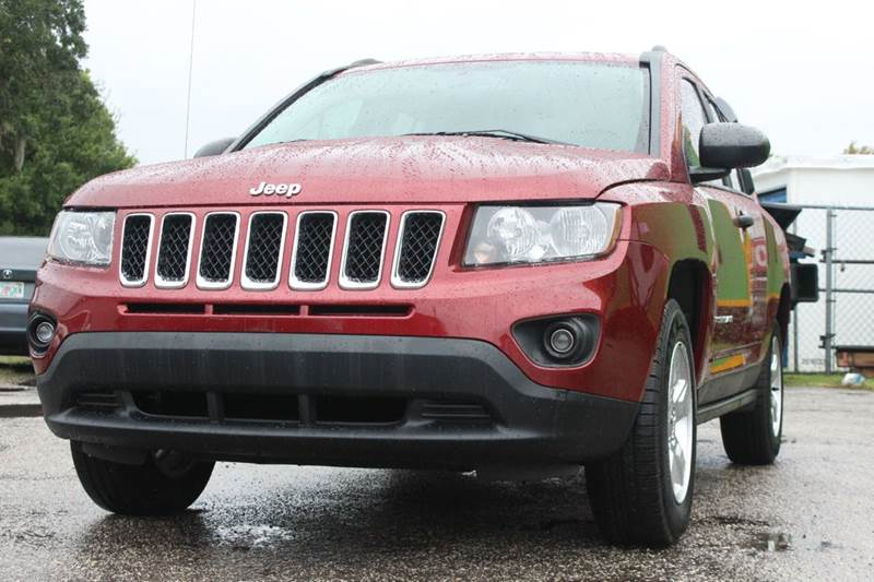 2014 JEEP COMPASS ALTITUDE EDITION 4DR SUV red there are no electrical problems with this vehicle