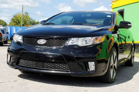 2010 Kia Forte Koup for sale at Marvin Motors in Kissimmee FL