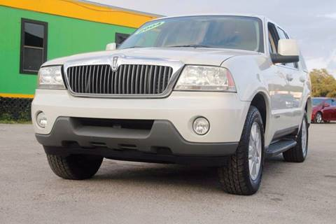 2004 Lincoln Aviator for sale at Marvin Motors in Kissimmee FL