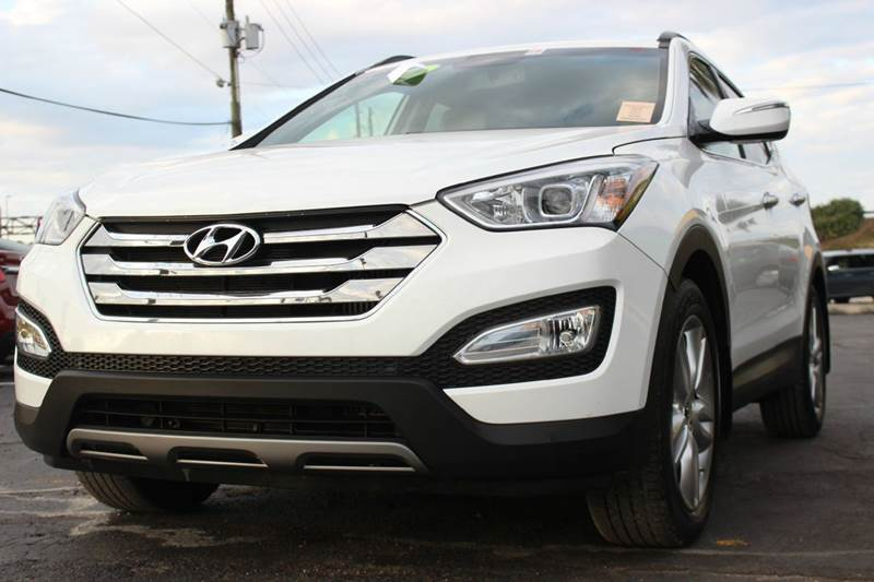 2013 HYUNDAI SANTA FE SPORT 20T 4DR SUV WSADDLE LEATHER white there are no electrical problems w