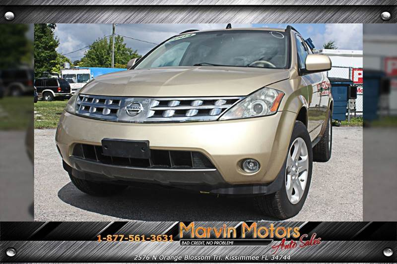 2004 NISSAN MURANO SL gold internet cash special guaranteed financing avialible i