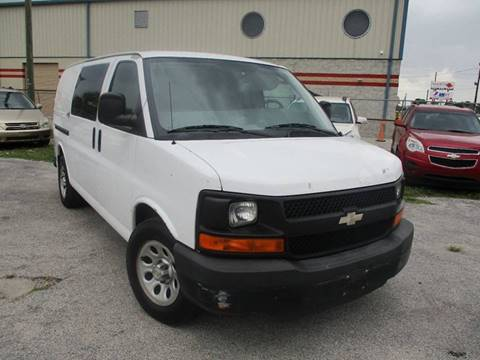 2010 Chevrolet Express Cargo for sale at Marvin Motors in Kissimmee FL