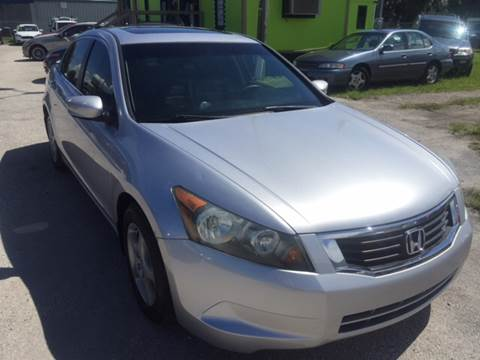 2008 Honda Accord for sale at Marvin Motors in Kissimmee FL