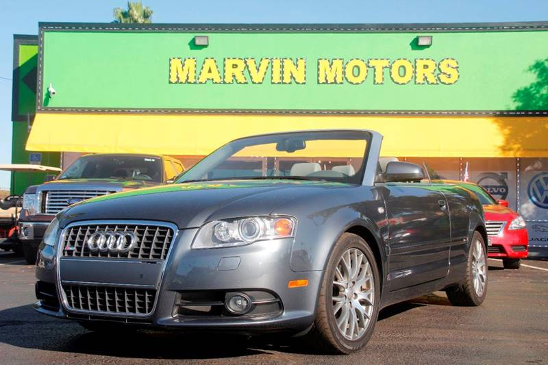 2009 AUDI A4 20T 2DR CONVERTIBLE CVT silver the front windshield is in excellent condition the