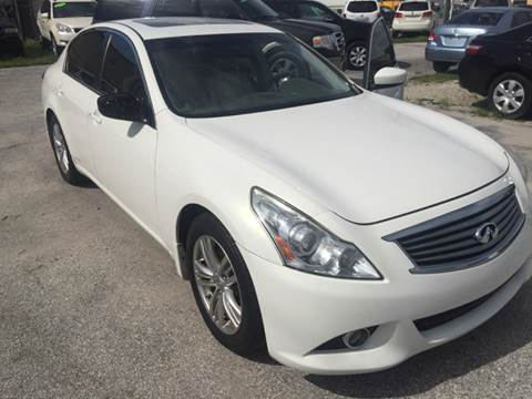 2010 Infiniti G37 Sedan for sale at Marvin Motors in Kissimmee FL