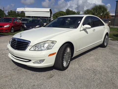 2007 Mercedes-Benz S-Class for sale at Marvin Motors in Kissimmee FL