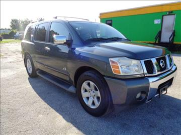 2007 Nissan Armada for sale at Marvin Motors in Kissimmee FL