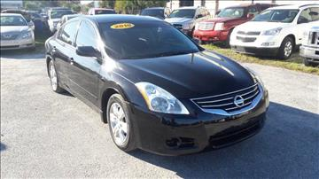 2010 Nissan Altima for sale at Marvin Motors in Kissimmee FL