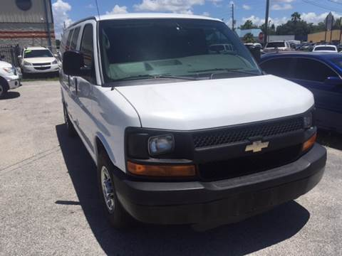 2011 Chevrolet Express Cargo for sale at Marvin Motors in Kissimmee FL