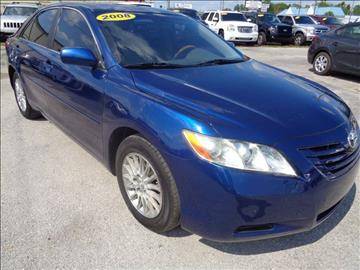2007 Toyota Camry for sale at Marvin Motors in Kissimmee FL