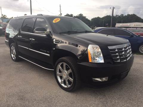 2010 Cadillac Escalade ESV for sale at Marvin Motors in Kissimmee FL