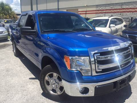 2013 Ford F-150 for sale at Marvin Motors in Kissimmee FL