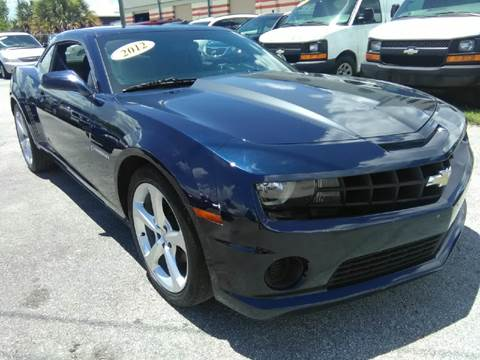 2012 Chevrolet Camaro for sale at Marvin Motors in Kissimmee FL