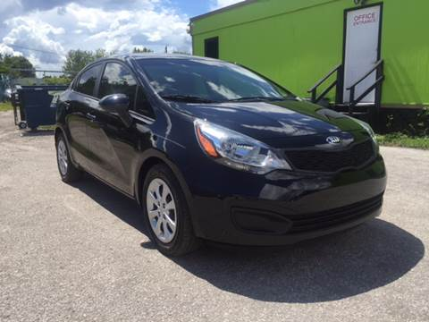 2015 Kia Rio for sale at Marvin Motors in Kissimmee FL
