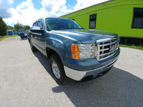 2011 GMC Sierra 1500 for sale at Marvin Motors in Kissimmee FL