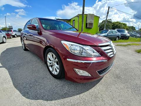 2013 Hyundai Genesis for sale at Marvin Motors in Kissimmee FL