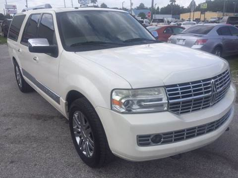 2007 Lincoln Navigator L for sale at Marvin Motors in Kissimmee FL