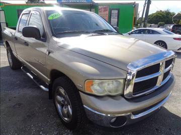 2003 Dodge Ram Pickup 1500 for sale at Marvin Motors in Kissimmee FL