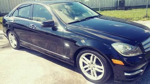 2012 Mercedes-Benz C-Class for sale at Marvin Motors in Kissimmee FL