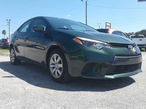 2014 Toyota Corolla for sale at Marvin Motors in Kissimmee FL