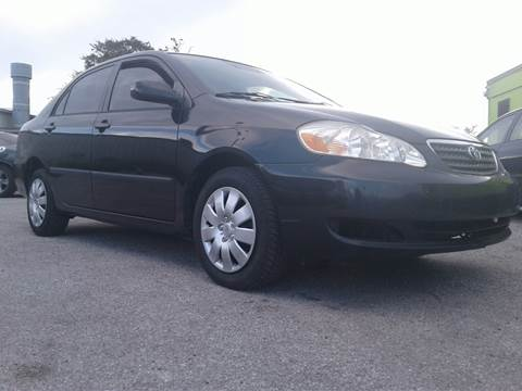 2007 Toyota Corolla for sale at Marvin Motors in Kissimmee FL
