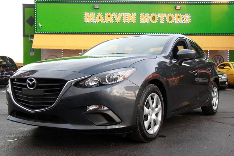 2015 MAZDA MAZDA3 I SPORT 4DR SEDAN 6A gray internet cash special guaranteed financing