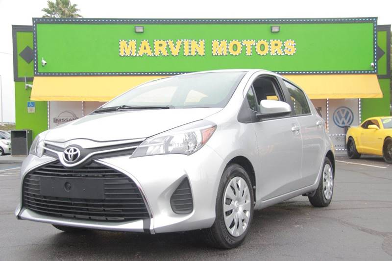 2015 TOYOTA YARIS 5-DOOR L 4DR HATCHBACK silver internet cash special guaranteed finan