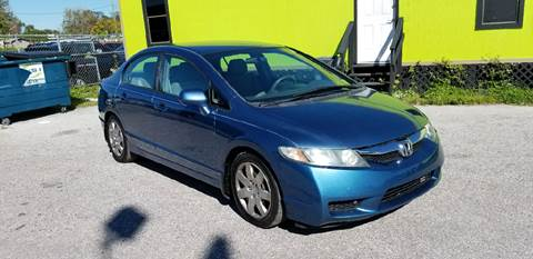 2010 Honda Civic for sale at Marvin Motors in Kissimmee FL