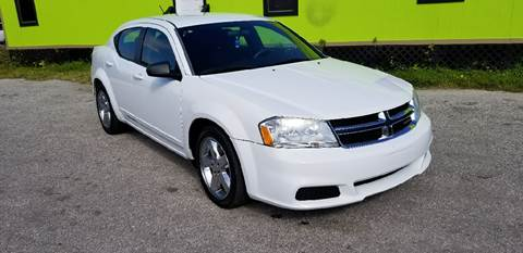 2012 Dodge Avenger for sale at Marvin Motors in Kissimmee FL