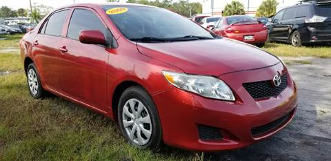 2009 Toyota Corolla for sale at Marvin Motors in Kissimmee FL
