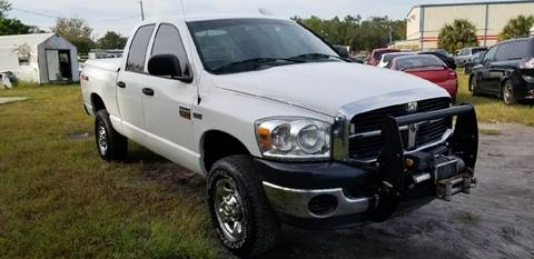 2009 Dodge Ram Pickup 2500 for sale at Marvin Motors in Kissimmee FL