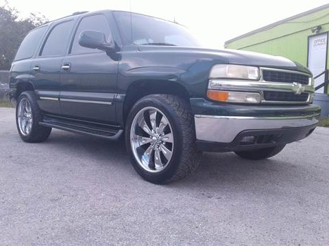 2003 Chevrolet Tahoe for sale at Marvin Motors in Kissimmee FL