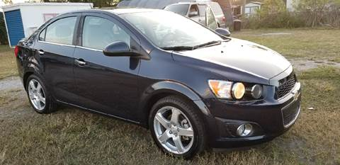 2015 Chevrolet Sonic for sale at Marvin Motors in Kissimmee FL