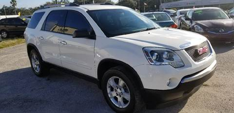 2012 GMC Acadia for sale at Marvin Motors in Kissimmee FL