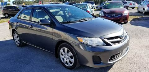 2012 Toyota Corolla for sale at Marvin Motors in Kissimmee FL