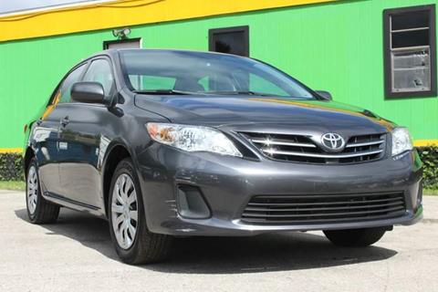 2013 Toyota Corolla for sale at Marvin Motors in Kissimmee FL