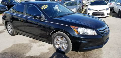 2012 Honda Accord for sale at Marvin Motors in Kissimmee FL
