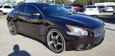 2010 Nissan Maxima for sale at Marvin Motors in Kissimmee FL