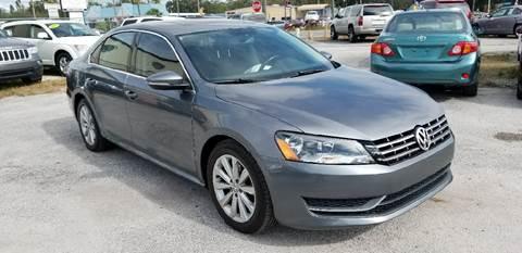 2012 Volkswagen Passat for sale at Marvin Motors in Kissimmee FL