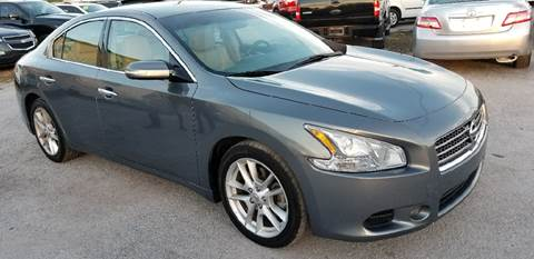 2009 Nissan Maxima for sale at Marvin Motors in Kissimmee FL