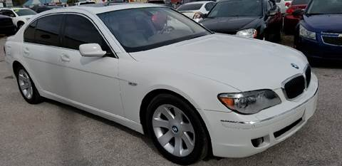 2008 BMW 7 Series for sale at Marvin Motors in Kissimmee FL