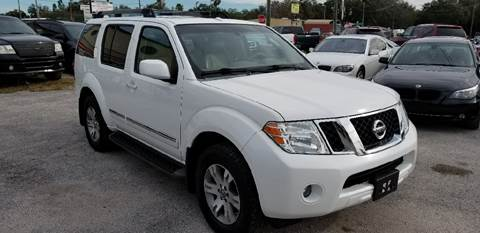 2008 Nissan Pathfinder for sale at Marvin Motors in Kissimmee FL