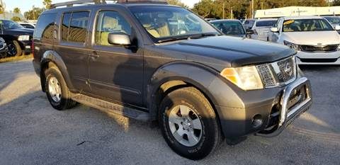2005 Nissan Pathfinder for sale at Marvin Motors in Kissimmee FL