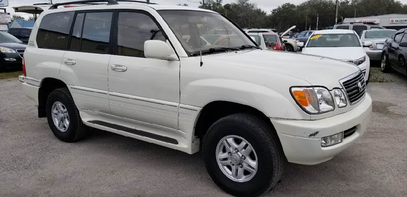 2000 Lexus LX 470 for sale at Marvin Motors in Kissimmee FL