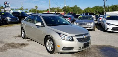 2014 Chevrolet Cruze for sale at Marvin Motors in Kissimmee FL