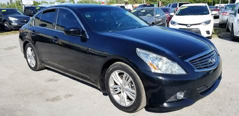 2012 Infiniti G37 Sedan for sale at Marvin Motors in Kissimmee FL